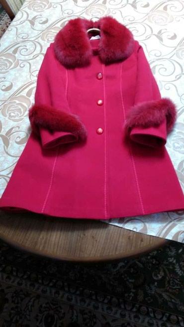 Продаю зимнее красное пальто. в Бишкек