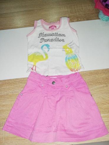 Komplet majica i suknja vel. 80/86 - Leskovac