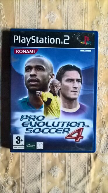 PS2 & PS1 (Sony PlayStation 2 & 1) | Srbija: PRO EVOLUTION SOCCER 4=playStation 2=ispravne su testirane juce stigle