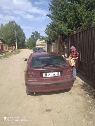 Renault - Кыргызстан: Renault Megane 1.9 л. 1996 | 11111 км