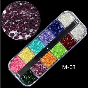 Personalni proizvodi | Zajecar: Set za dekoraciju nokta (1a)  12u1