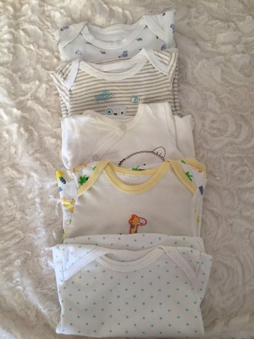 Selection of 5 vests. 0-3 months. Very good condition.  σε Νέα Σμύρνη