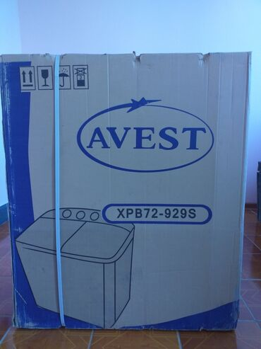 Вертикальная Полуавтоматическая Стиральная Машина Avest 7 кг