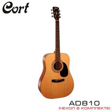Гитара акустическая CortAD810 OPвходит в серию гитарStandart.Корпус