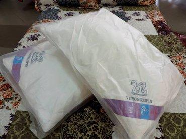 Подушки из лебяжьего пуха 50*70 в Бишкек