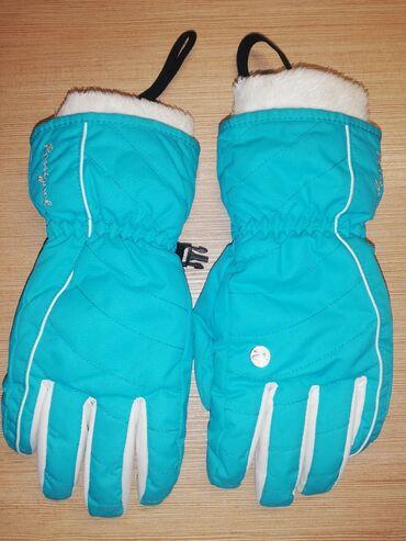Zenska decija - Srbija: Rossignol ski rukavice zenske veličina S kao nove neoštećene nošene u