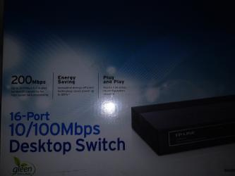 роутер тп линк 2 антенны в Кыргызстан: Сетевой коммутатор  16порт  ТП-ЛИНК  новый