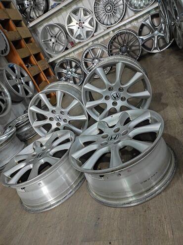 купить диски для машины в Кыргызстан: Диски HONDA Диаметр R17Сверловка 5*114.3Ширина 7.0j et55DIA