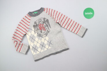 Другие детские вещи - Б/у - Киев: Дитячий светр з принтом Benetton, вік 5-6 р., зріст 120 см    Довжина