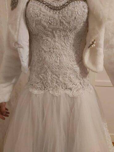 Продам свадебное платье, одевалось только один раз. Состояние