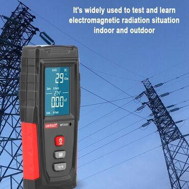 - Azərbaycan: RadiometrEMF tester WT-3121Elektrik və elektromaqnit şualarlnl ölcən