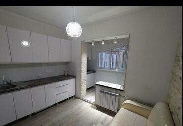 Продажа квартир - 2000 - Бишкек: 106 серия, 1 комната, 36 кв. м Бронированные двери, Дизайнерский ремонт, Лифт