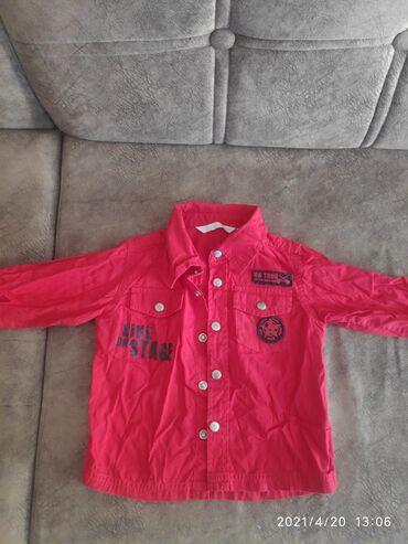 Красная рубашка со штатов 1-2 года .Жолтая кофта на 1-2. Все в