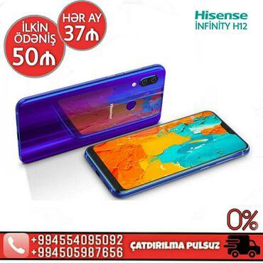 prasdoy telefon - Azərbaycan: Hisense infinity H12 4/32GB blue markalı smartfon FAİZSİZ kreditlə