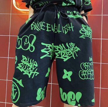 Личные вещи - Казарман: Новые, стильные шорты билли айлиш, ни разу не носила, не подошли