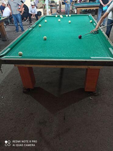 Спорт и хобби - Базар-Коргон: Бильярдные столы