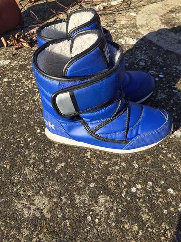 Dečije Cipele i Čizme | Zrenjanin: Zimske čizme za dečaka po najpovoljnijoj ceni! Dužina gazista:23cm