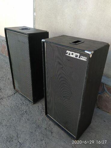 Динамики и музыкальные центры - Кыргызстан: Срочно!!! Продаю эстрадные колонки '' Том-1201'', в колонках попарно