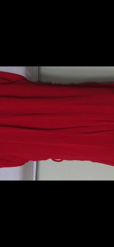 Prelepa crvena haljina/tunika made in Italy NOVO - Belgrade