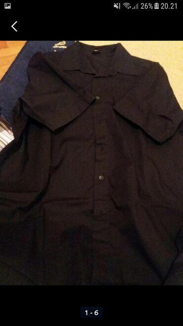 Muška odeća | Sokobanja: Košulje muske .crna obucena jednom teget nikad