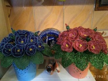 Цветы из бисера. Изделие ручной в Бишкек