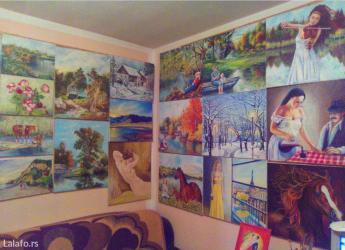 Umetnicke slike u tehnici ulje na platnu  - Smederevo - slika 4