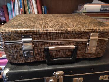 Продается чемодан, советский. Замки рабочие