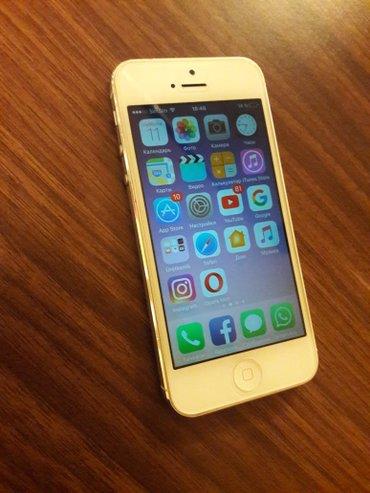 Bakı şəhərində Apple iphone5 əla vəziyyətdə, batareyası dəyişdirilib, heç bir problem