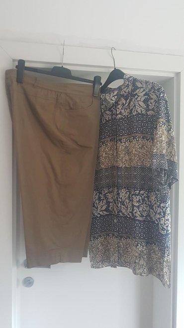 Tricetvrt pantalone - Srbija: SNIZENJE. Novo. savrsena kombinacija,tricetvrt pantalone i kosulja,iz