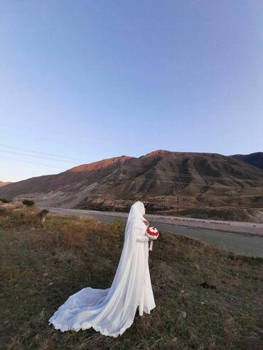 плов на заказ in Кыргызстан | ГОТОВЫЕ БЛЮДА, КУЛИНАРИЯ: Мусульманское свадебное платье. Кружева с бисером ручная работа, было