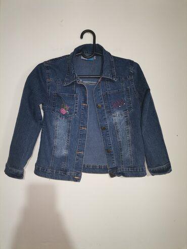 Teksas jaknica za devojcice nova Za uzrast do 10 Godina