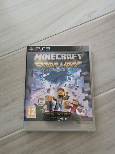 Ps3 igrice - Srbija: Minecraft PS3 igrica!!!