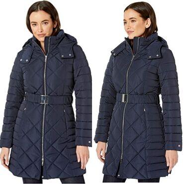 Куртка Tommy Hilfiger оригинал 100%, удлиненная зимняя куртка