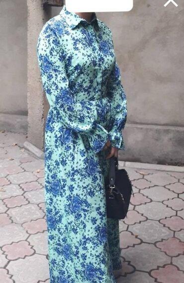 мультиповар фаберлик в Кыргызстан: Платье фаберлик, длинное 46 размер
