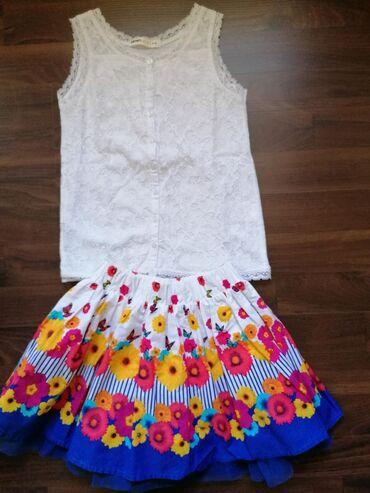 Komplet očuvane garderobe za devojčice, veličina 104-4