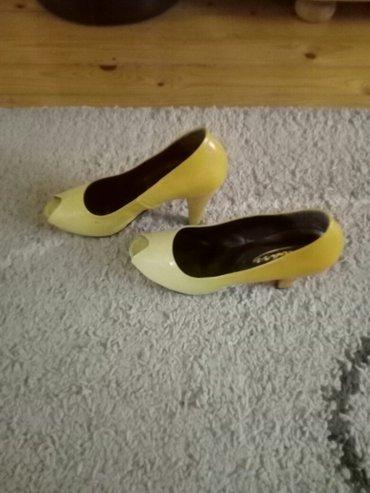 Odlicne sandale,jednom obuvene. visina stikle uslikana broj 38/39 - Pancevo