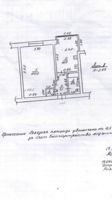 вторичная недвижимость в Кыргызстан: Продается квартира: 1 комната, 44 кв. м