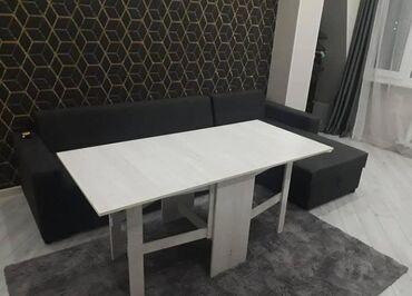 маникюрный стол трансформер в Кыргызстан: Стол | Офисный, Для кафе, ресторанов, Спальный, туалетный, дамский | Раскладной, Стол-книжка, Нераскладной