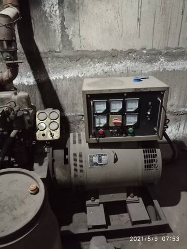 Инструменты - Кыргызстан: Продаётся дизельный генератор в хорошем состоянии