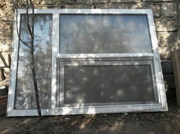 Bakı şəhərində Plastik pencere satııır şuşesi buzlu şuşe ölcusu 1.20 1.60