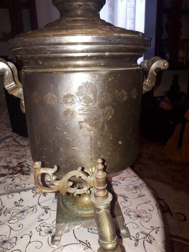 41 elan | İDMAN VƏ HOBBI: Antikvar qedmi samovar 1897ci illerindir 8L su tutur odunla yanir