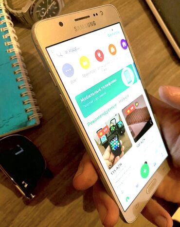 Arxa növü kamera - Azərbaycan: İşlənmiş Samsung Galaxy J7 2016 4 GB qızılı