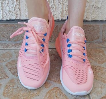 Ženska patike i atletske cipele | Zajecar: Roze Nike 270 Na stanju 41 2899 din