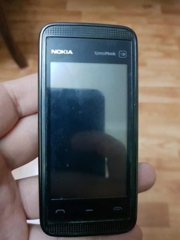 Bakı şəhərində Nokia 5530,açılmamış telefondu,tək nömrədi,problemi yoxdu!