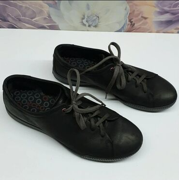 Туфли - Кыргызстан: Ecco - оригинал! Размер 41. Натуральный нубук! Спортивные туфли в