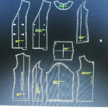 Градация лекал мужской одежды - Кыргызстан: ЛЕКАЛА БИШКЕК компьютерные Женские платья туники рубашки, брюки