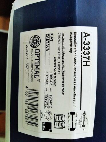 Na prodaju nov amortizer marke OPTIMAL Nemacke proizvodnje,prednji za