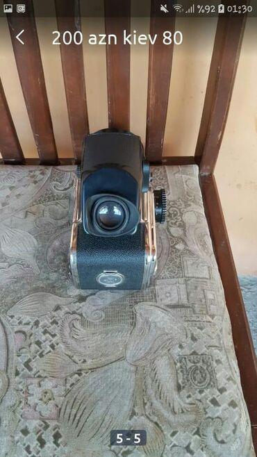 Fotoaparatlar - Gəncə: Kiev 80 foto aparat 200 azn