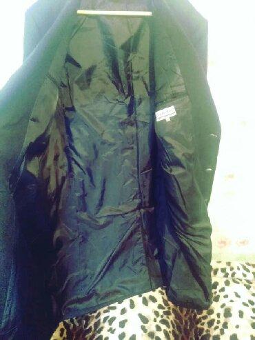 Мужская одежда в Беловодское: Мужское пальто в идеальном состоянии, турция шерсть 100%, 50 р покуп