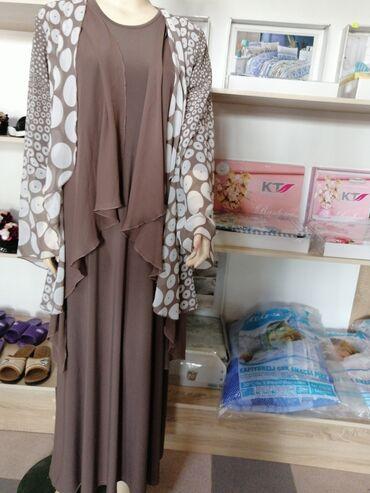 Женская одежда в Джалал-Абад: Распродажа!! Производство Турция. Материал масло,и накидка шифон